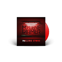 Rolling stone, Edition limitée maxi vinyle rouge., Vinyle 45T Maxi