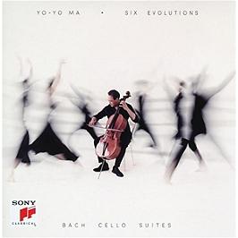 Six evolutions, Bach cello suites, CD
