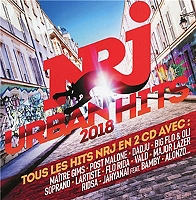 NRJ urban hits 2018 de Compilation en CD
