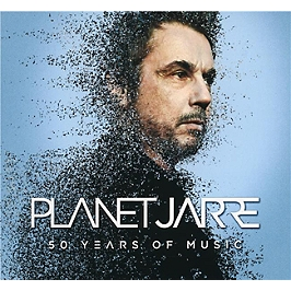 Planet Jarre, 50 years of music, CD Digipack