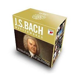 J.S. Bach masterworks, CD + Box