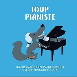 Loup pianiste, CD