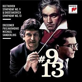 Beethoven: Symphony No. 9 & Shostakovich: Symphony No. 13, CD