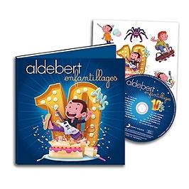 10 ans d'enfantillages, Edition collector CD-livre 32 pages + planche de stickers., CD + Livre