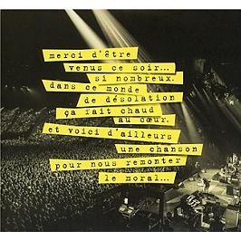 40 ans de chansons sur scène, CD + Dvd