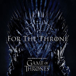 For the throne (music inspired by the HBO series Game Of Thrones), Vinyle 33T