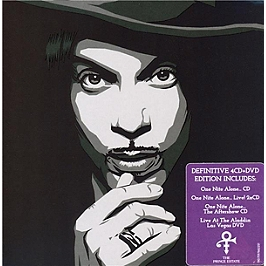 Up all nite with Prince : the one nite alone collection, CD + Dvd