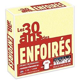 Les 30 ans des Enfoirés 1989-2019, CD + Dvd