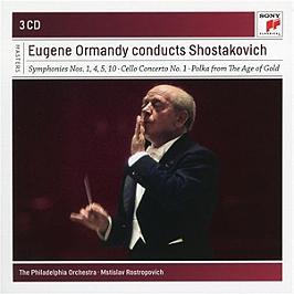 Eugene Ormandy conducts Shostakovich, CD + Box