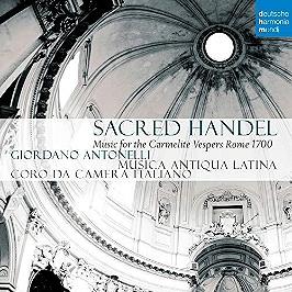 Sacred Handel, music for the Carmelite vespers Rome 1700, CD