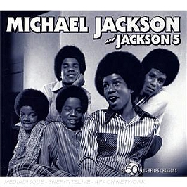 Les 50 plus belles chansons : Michael Jackson & the Jackson 5, CD Digipack