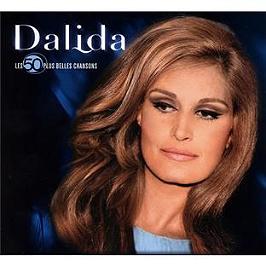 Les 50 plus belles chansons : Dalida, CD Digipack