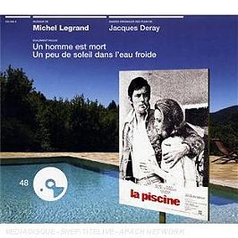 La piscine (bof), CD Digipack