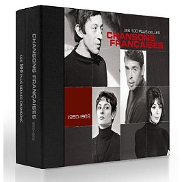 Les 100 plus belles chansons françaises 1950-1969, CD + Box