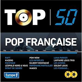 Top 50 pop française, CD