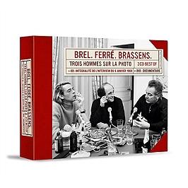 Trois hommes sur la photo, CD + Dvd
