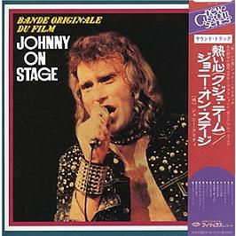Johnny on stage, édition étrangère Japon, CD Digipack
