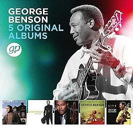 5 original albums, CD + Box