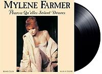 Pourvu qu'elles soient douces de Mylène Farmer en Vinyle 45T Maxi