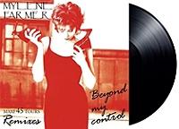 Beyond my control de Mylène Farmer en Vinyle 45T Maxi