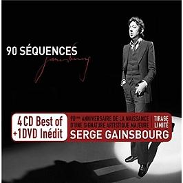 90 séquences, Edition limitée 4 CD + 1 DVD., CD + Dvd