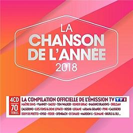 La chanson de l'année 2018, Edition 4 CD multipack., CD + Box