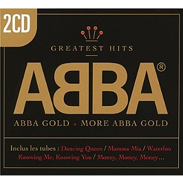 Best of Abba gold and more gold, Edition 2 CD cristal + fourreau., CD