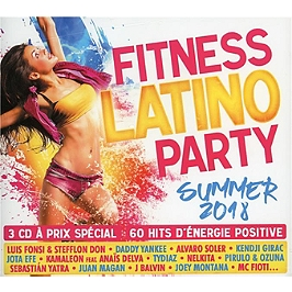 Fitness latino party summer 2018, Edition 3 CD multipack, CD + Box
