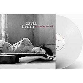 Quelqu'un m'a dit, Edition vinyle translucide., Vinyle 33T