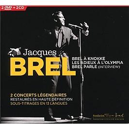En concert, édition 2 CD + 2 DVD format digipack, CD + Dvd