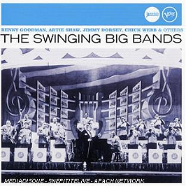 The swinging big bands, CD