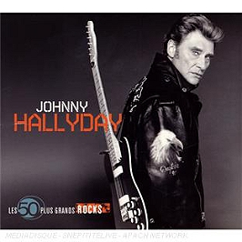 Les 50 plus grands rocks : Johnny Hallyday, CD Digipack
