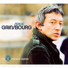 Les 50 plus belles chansons : Serge Gainsbourg, CD Digipack