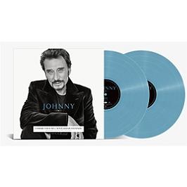 Johnny, Edition limitée double vinyles bleus, pochette simple - dos carré., Double vinyle