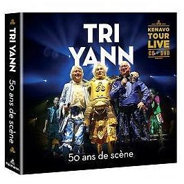 50 ans de scène - kenavo tour Live, Edition limitée CD + DVD digipack., CD + Dvd