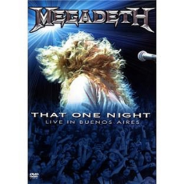 That one night : live in Buenos Aires, Dvd Musical