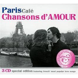 Paris café : chansons d'amour, CD Digipack