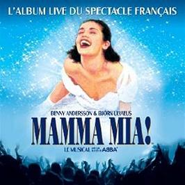 Mamma Mia (l'album live du spectacle français), CD