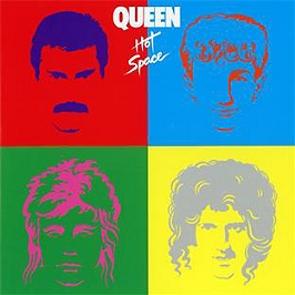 Hot space, CD