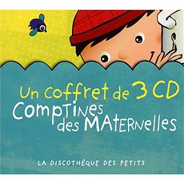 Comptines des maternelles, CD Digipack
