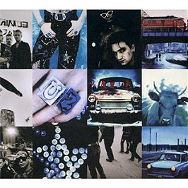 Achtung baby, édition deluxe 20ème anniversaire, CD Digipack