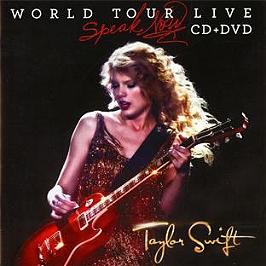Speak now world tour live, CD + Dvd