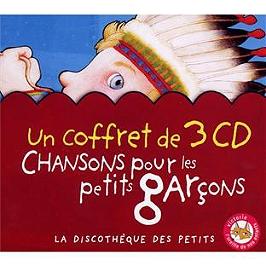 Chansons pour les petits garçons, CD