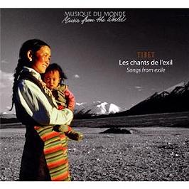 Tibet : les chants de l'exil, CD Digipack