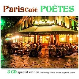 Paris café poètes, CD Digipack