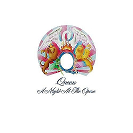 A night at the opera, Vinyle 33T