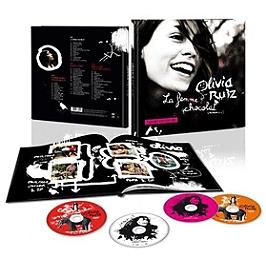 La femme chocolat - version gourmande, Edition limitée deluxe livre 25 x 25 cm : 2 CD + 2 DVD., CD + Dvd