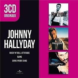 3 cd originaux : gang / rock n' roll attitude / sang pour sang, CD + Box