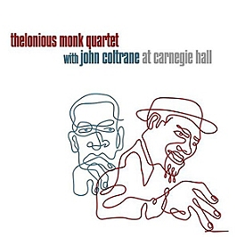 Thelonious Monk with John Coltrane at Carnegie Hall, Edition double LP gatefold., Double vinyle