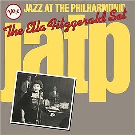 Jazz at the Philharmonic: Ella Fitzgerald set, Edition 2 LP gatefold., Double vinyle